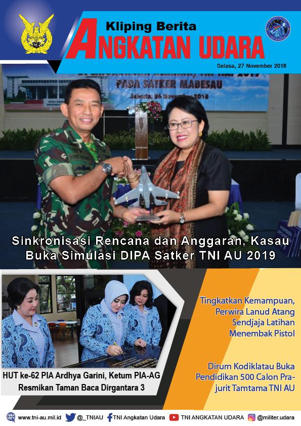 Kliping Berita Media 27 November 2018