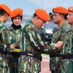 Sertijab Dankorpaskhas : Kasau Yakin Baret Jingga Tetap dan Akan Jadi Kebanggaan TNI AU