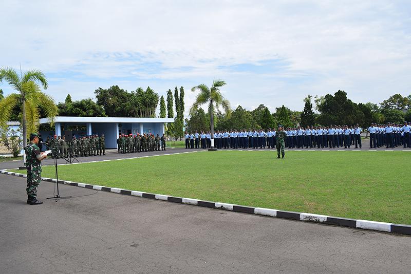 230 Siswa Setukpa Laksanakan Kegiatan Praktik Staffing di Lanud Adisutjipto