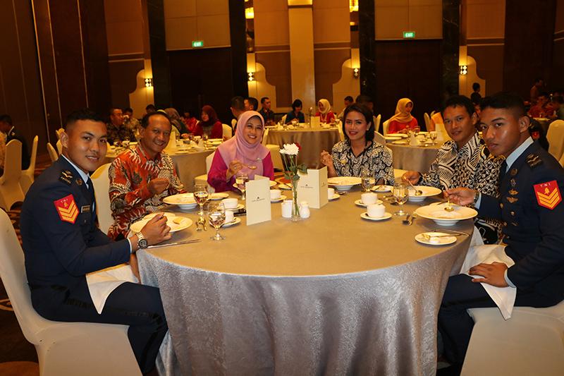 Jamuan Makan Internasional Sekbang A-94/PSDP A-31
