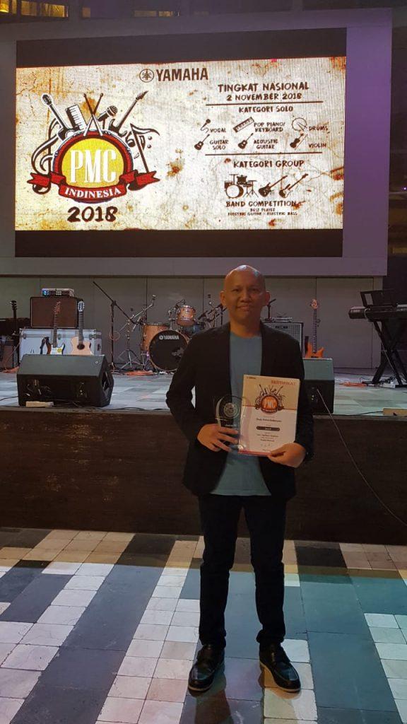 Perwira Kohanudnas Juara Tiga Piano Pop Yamaha PMC Idinesia 2018