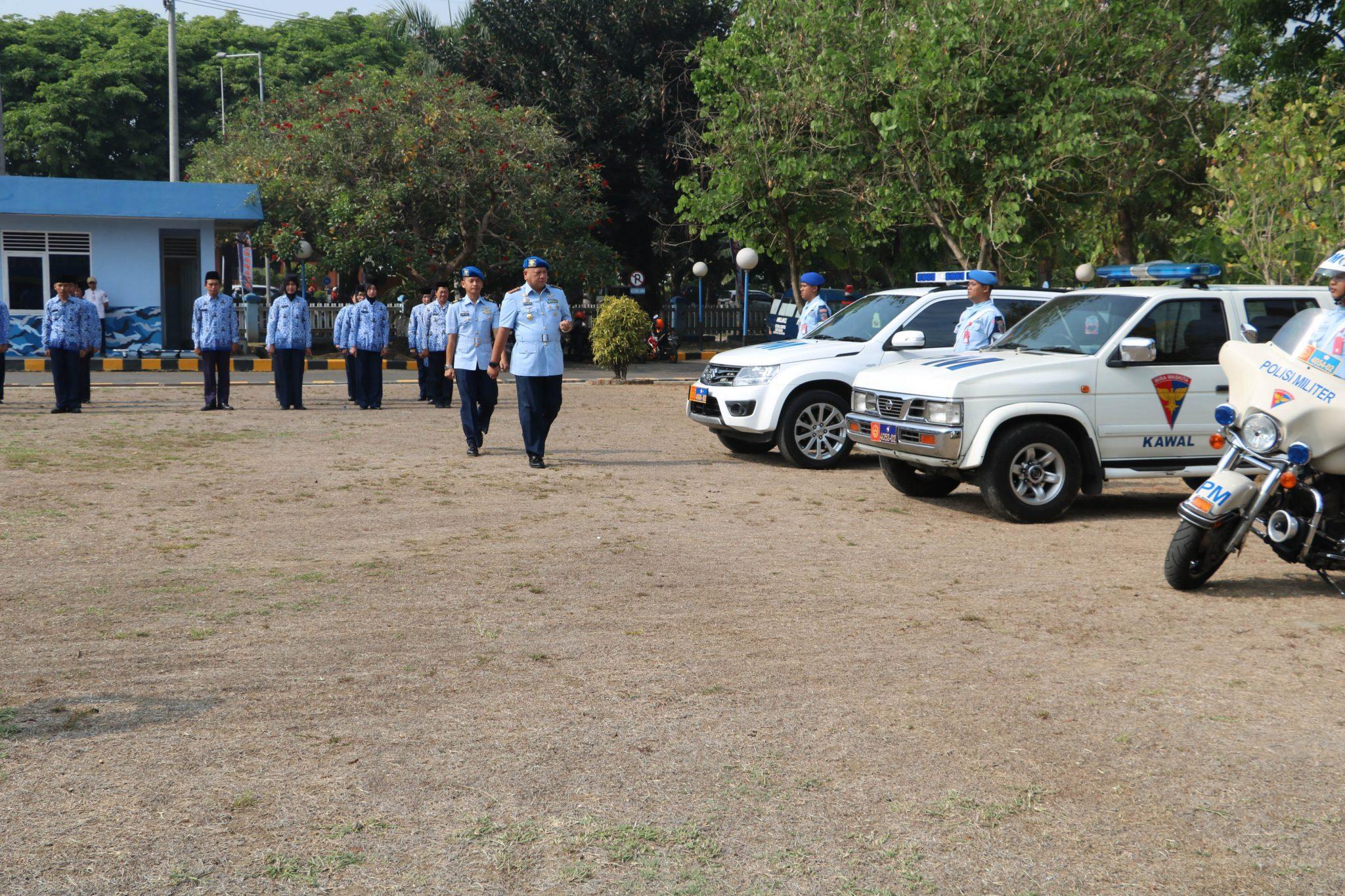 Upacara Peringatan HUT Pomau ke-72 di Lanud Muljono