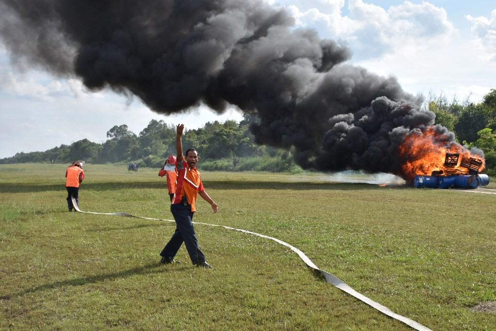 Latihan Penanggulangan Kebakaran, Uji Kesiapan dan Kesigapan Personel Roesmin Nurjadin