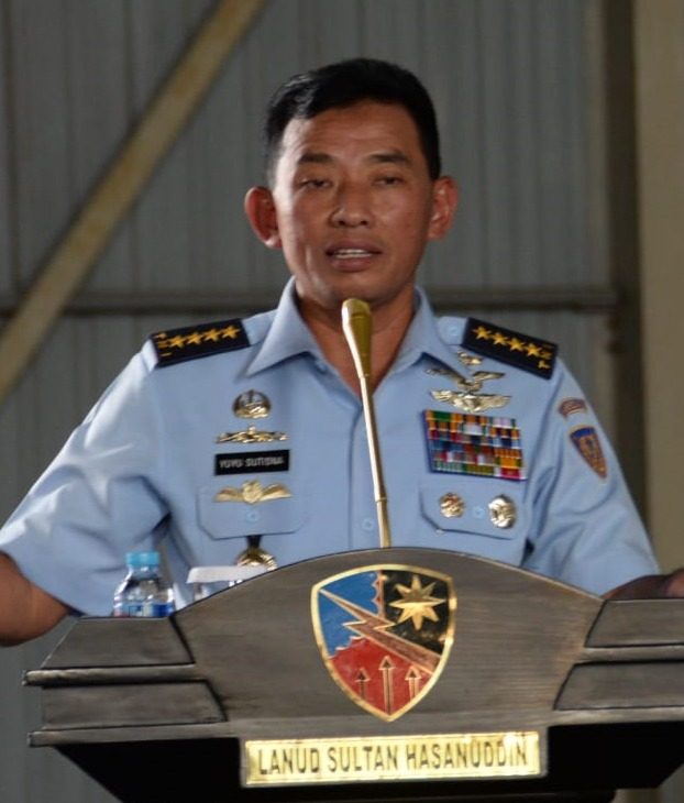 Kasau Bangga atas Prestasi Zero Accident Lanud Sultan Hasanuddin