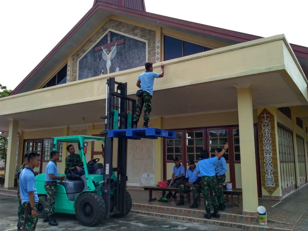 Lanud Supadio Kembali Gelar Karya Bakti TNI di Kabupaten Kubu Raya