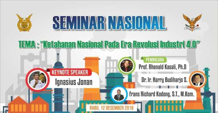 Seminar Ketahanan Nasional di AAU