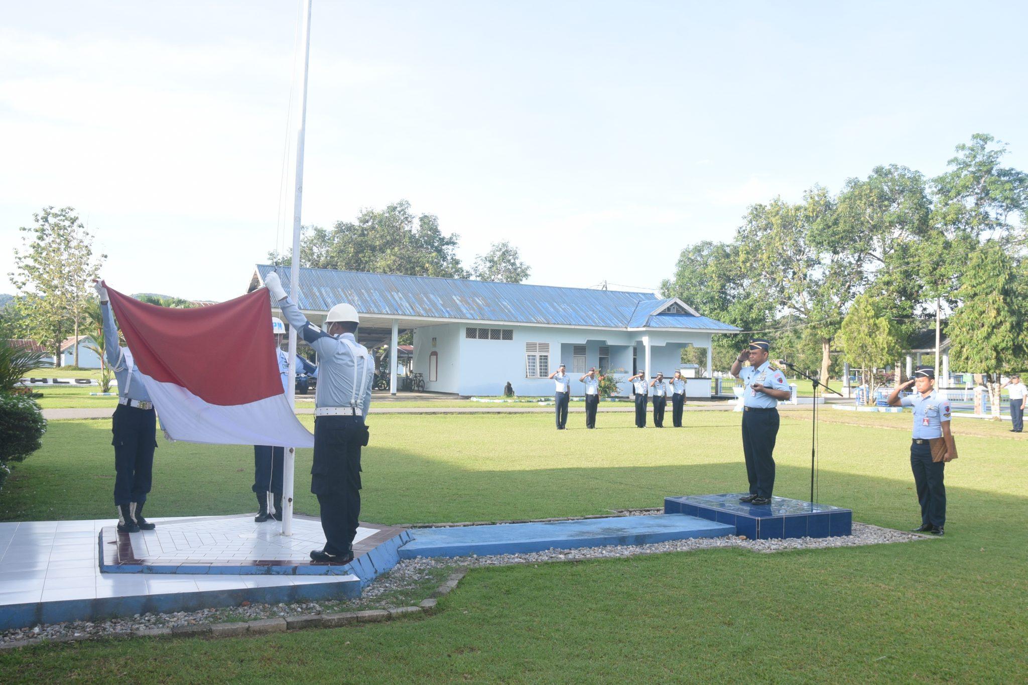 Upacara Peringatan Hari Ibu ke-90 Tahun 2018 di Lanud Haluoleo