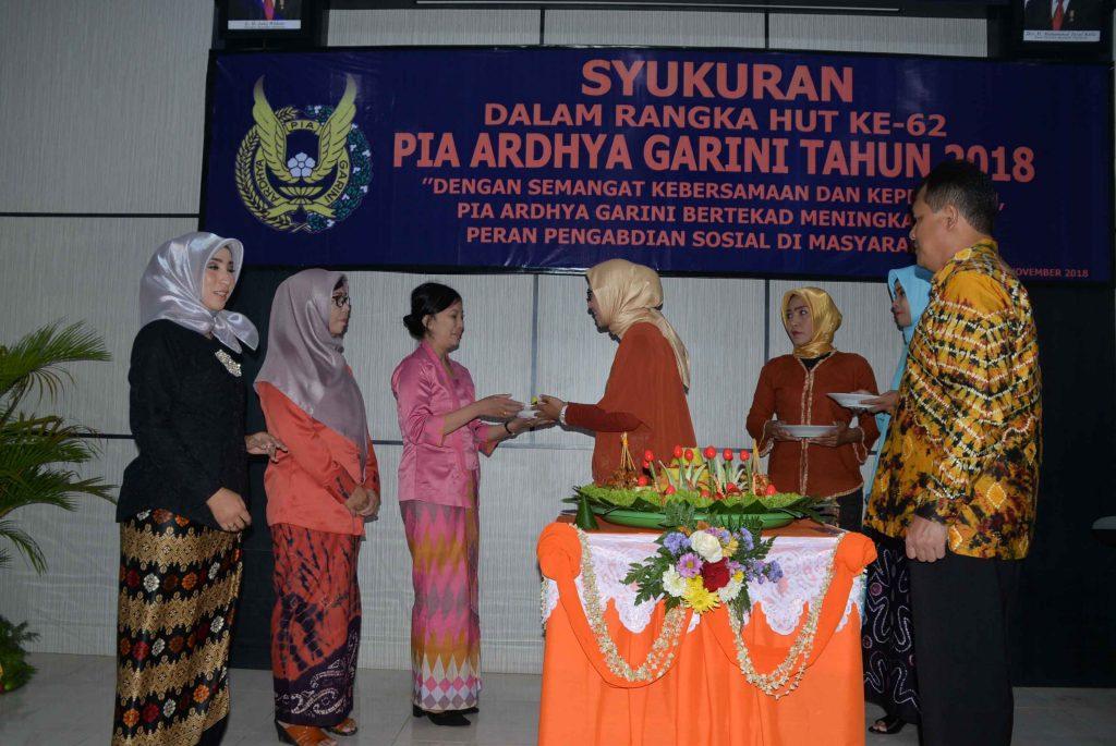 HUT PIA Ardhya Garini Ke-62 Tahun 2018 di Lanud Sjamsudin Noor