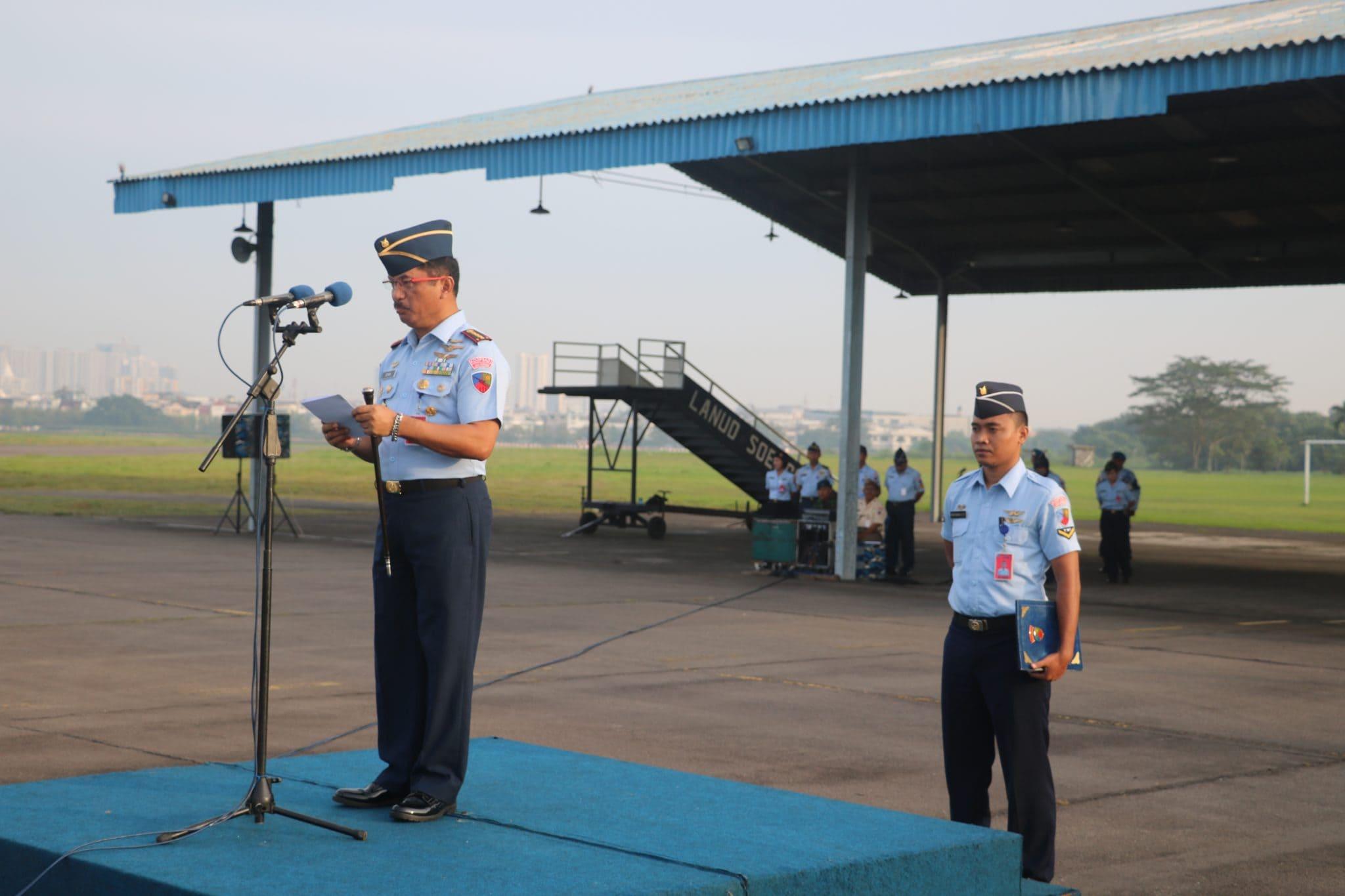 Personel TNI AU di Wilayah Medan Peringati Hari Ibu Ke-90 dengan Hikmat