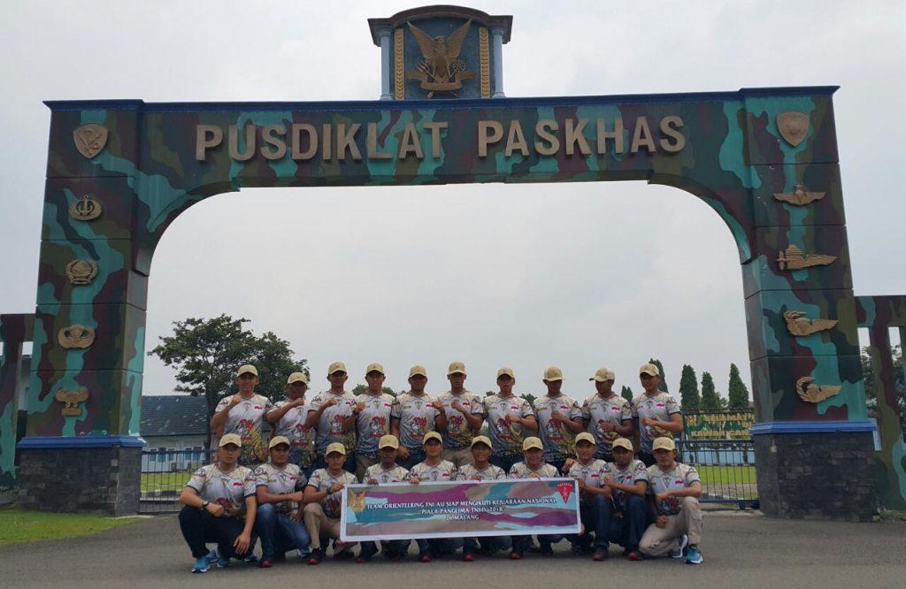 Tim Orienteering TNI AU Ikuti Kejurnas Piala Panglima TNI
