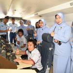 Hari Disabilitas Internasional : Lanud Sultan Hasanuddin Terima Kunjungan Penyandang Disabilitas