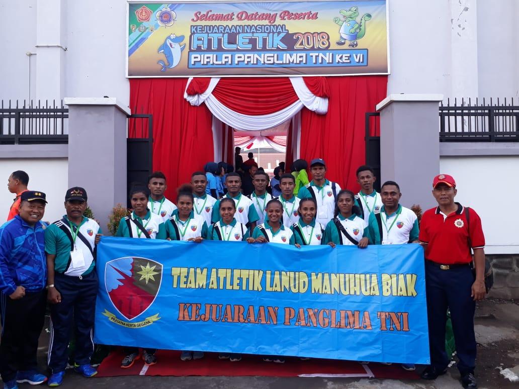 Atlet TNI AU Ikuti Kejurnas Atletik Piala Panglima TNI 2018