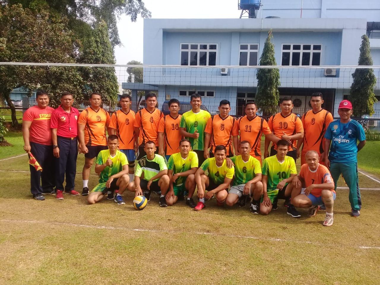 Pertandingan Volly di Lanud Atamg Sendjaja, Sebagai Sarana Untuk Menanamkan Jiwa Semangat Juang dan Sportivitas