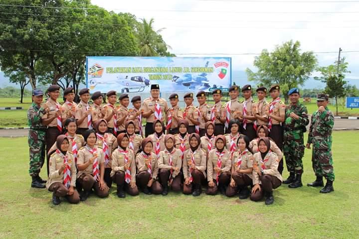 Pengukuhan Saka Dirgantara Angkatan I Lanud Jenderal Besar Soedirman TH 2018