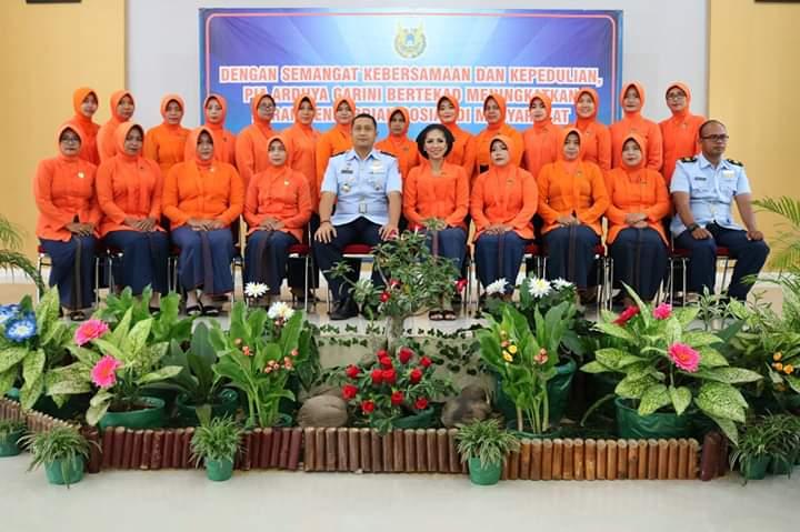 PIA Ardhya Garini Cabang 8/D.I Lanud J.B Soedirman Adakan Syukuran