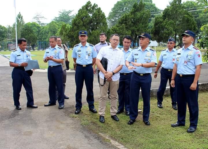 Tim Pengendalian dan Pengawasan Bangunan Fasilitas Koopsau I Dipa 2018 Kuker di Lanud J.B. Soedirman