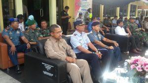 Komandan Lanud Mus Menghadiri Apel Gelar Operasi Lilin-Rencong Tahun 2018