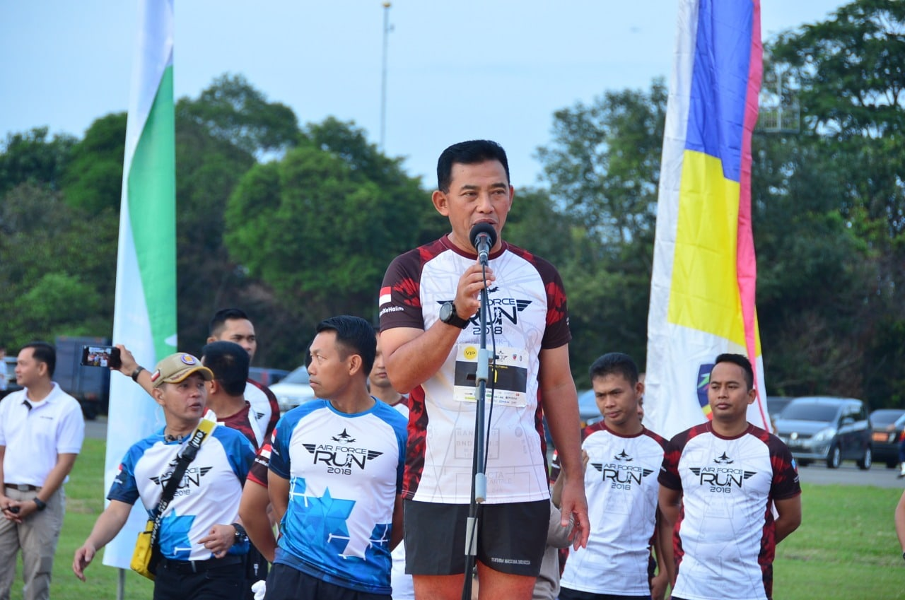 4000 Runners Meriahkan Airforce Run '18 Kasau: Melalui Air Force Run '18, TNI AU Ajak Masyarakat Nikmati Segarnya Udara Halim