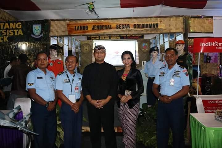 Lanud J.B. Soedirman Meriahkan Purbalingga Fair 2018
