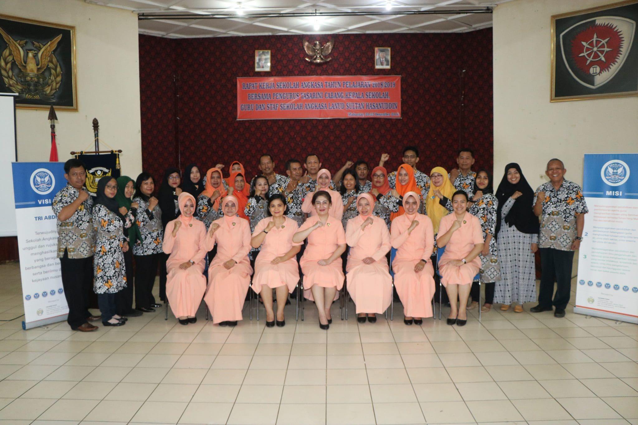 Raker Sekolah Angkasa Lanud Sultan Hasanuddin