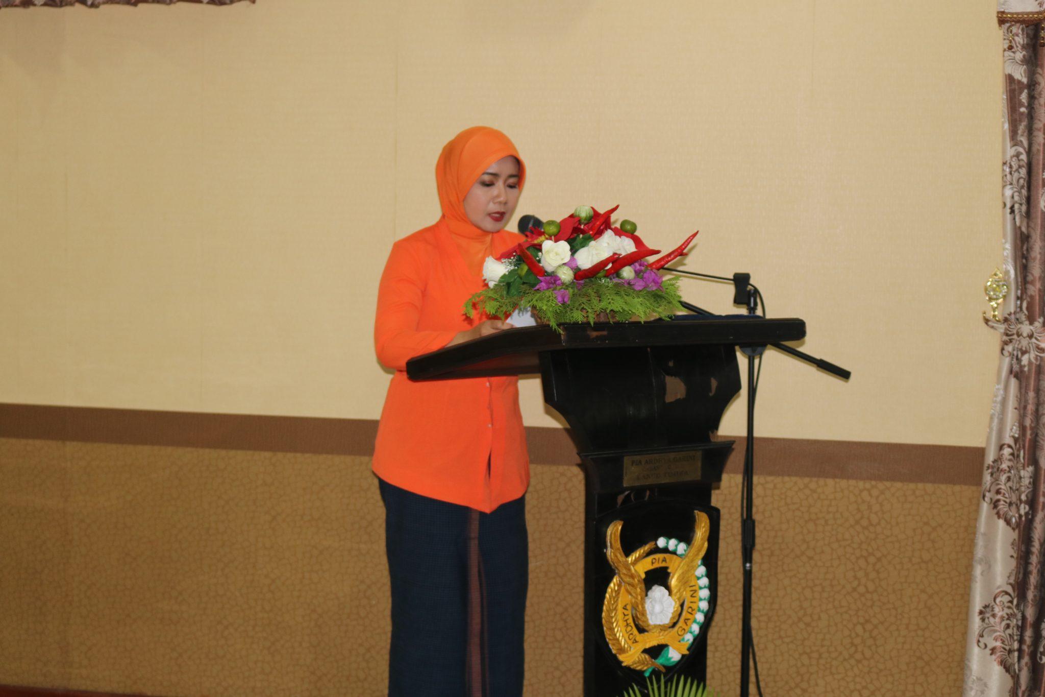 Pia Ardhya Garini Lanud Yohanis Kapiyau Sykuran HUT PIA Ke-62