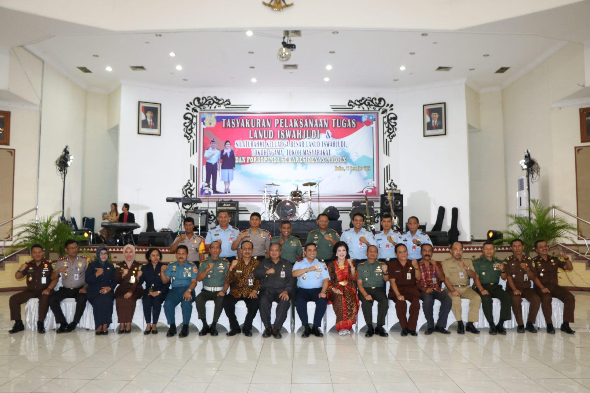 Bersyukur dan jalin silaturahmi Danlanud Iswahjudi undang tokoh agama dan tokoh masyarakat