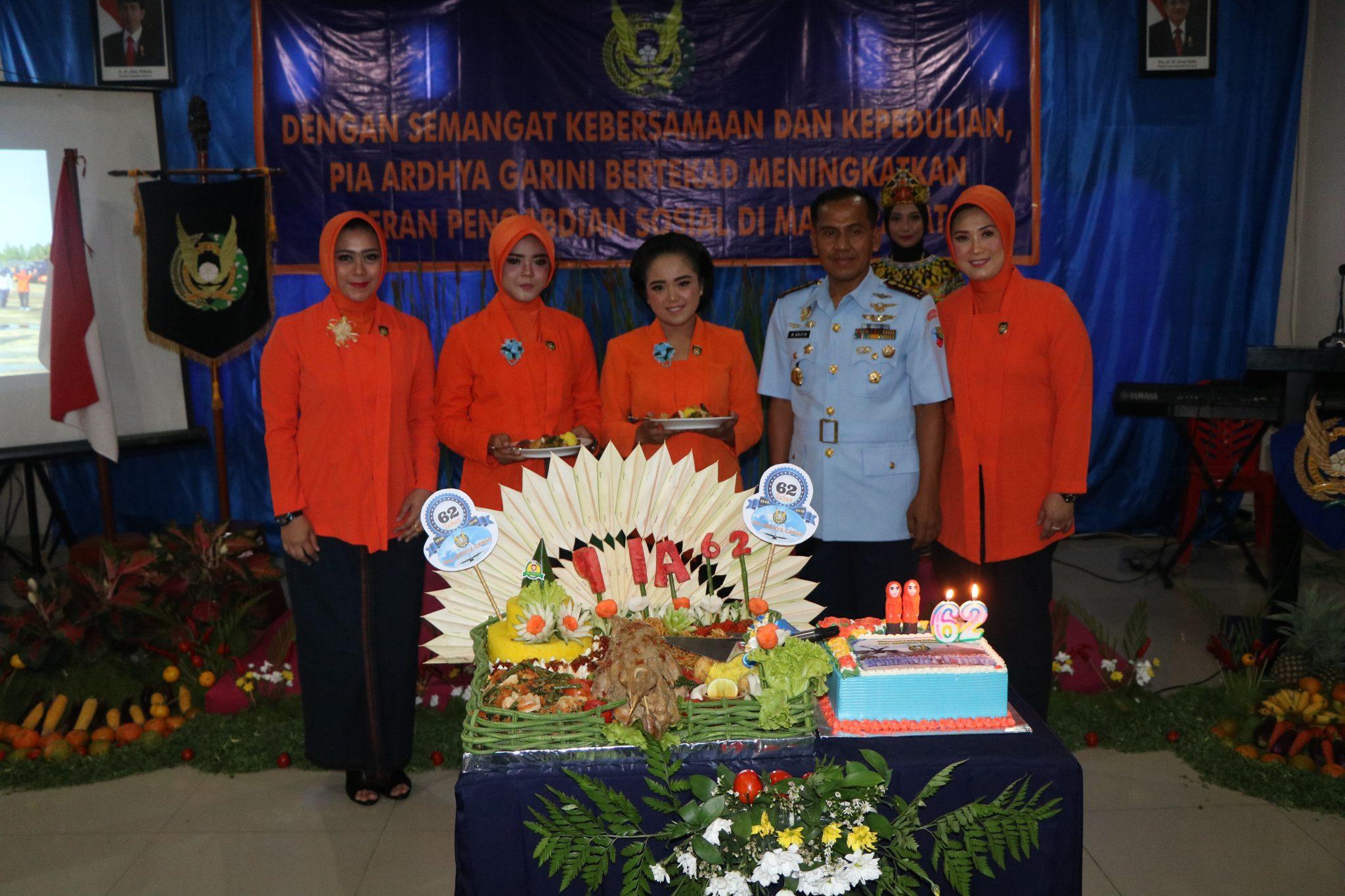 HUT ke-62 PIA Ardhya Garini di Lanud Anang Busra Tarakan