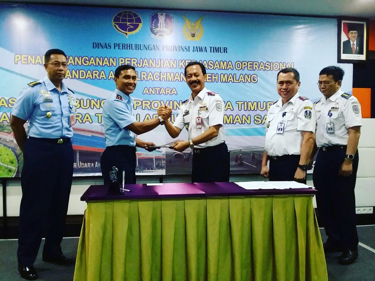 Perjanjian Kerjasama Operasional Bandara Abdulrachman Saleh Malang