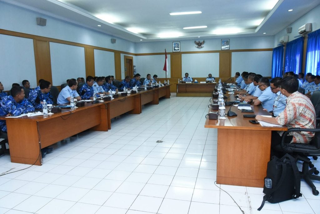 Rakor Perbaikan Human Centrifuge dan Rapat Evaluasi Program Kerja Koharmatau TA 2018