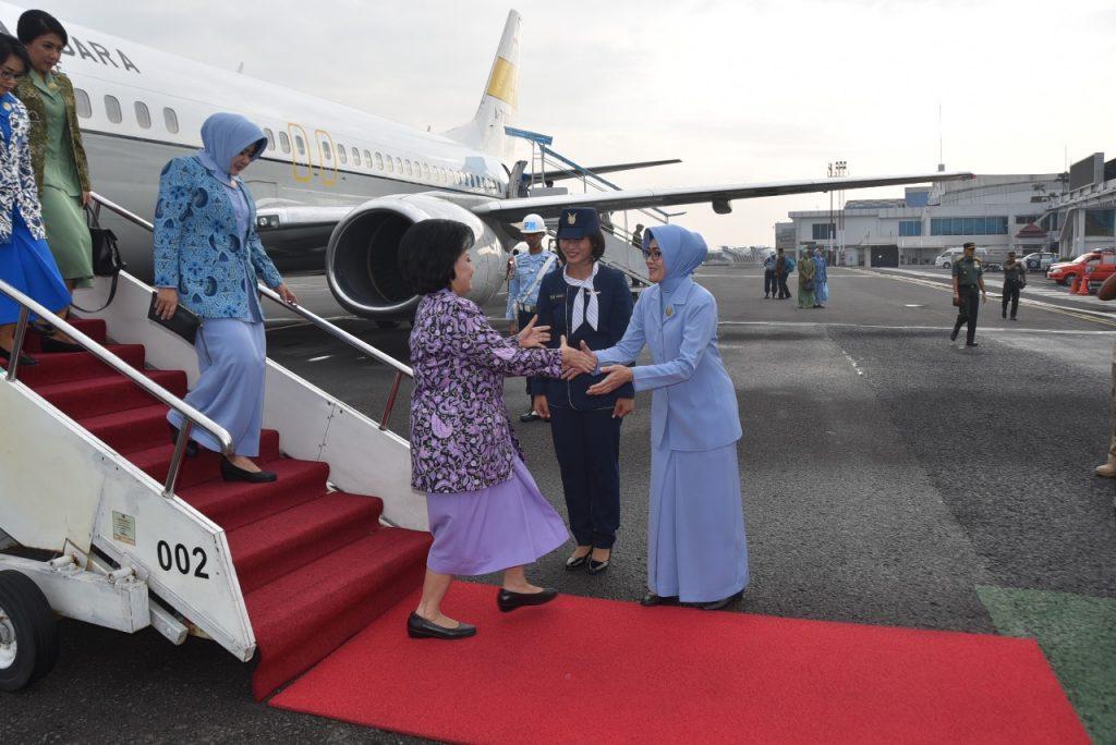 Ketua Umum Dharma Pertiwi Kunjungan Kerja di Bandung