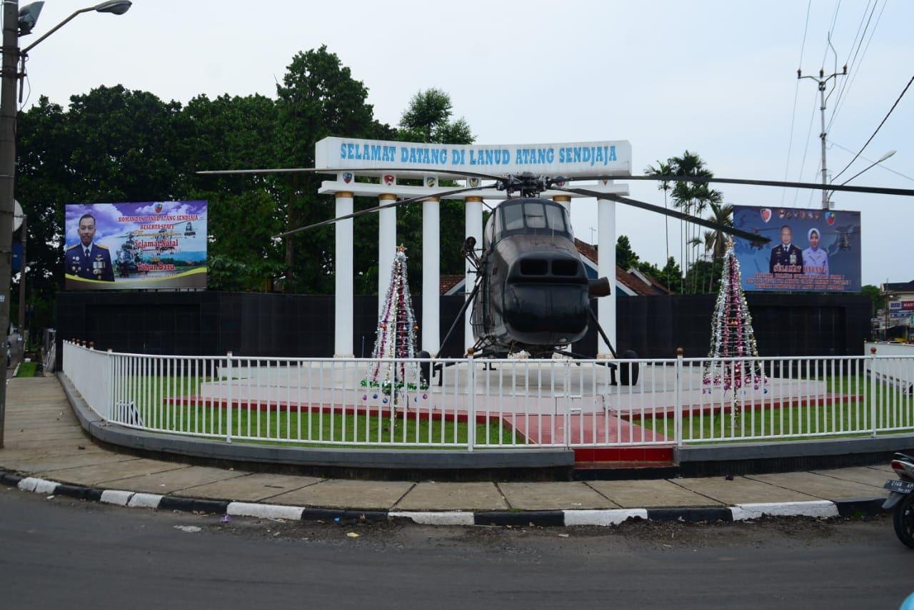 Tugu Helikopter Lanud Atang Sendjaja Simbol Toleransi Beragama