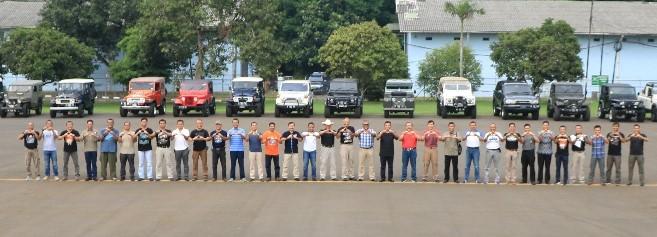 Air Force 4WD Community Silaturhami di Lanud Halim Perdanakusuma