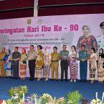 Danlanud Pangeran M. Bun Yamin Mengikuti Lomba Memasak bersama Forkopimda Provinsi Lampung Dalam Rangka Memperingati Hari Ibu