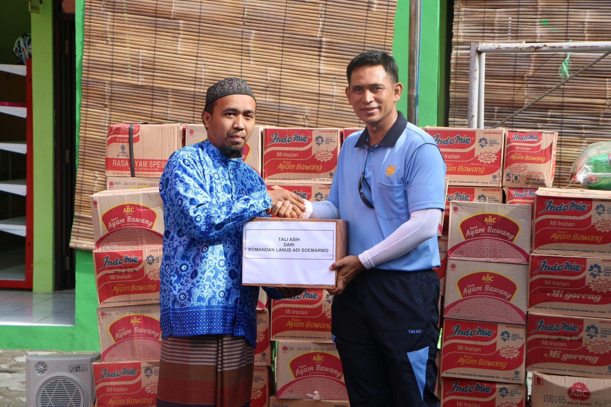 Danlanud Adi Soemarmo Gowes Bareng Kunjungi Yayasan Aitam Indonesia