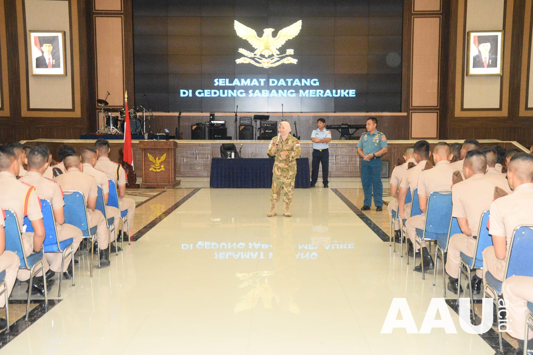 Taruna AAU Ikuti Sosialisasi dari PMPP TNI