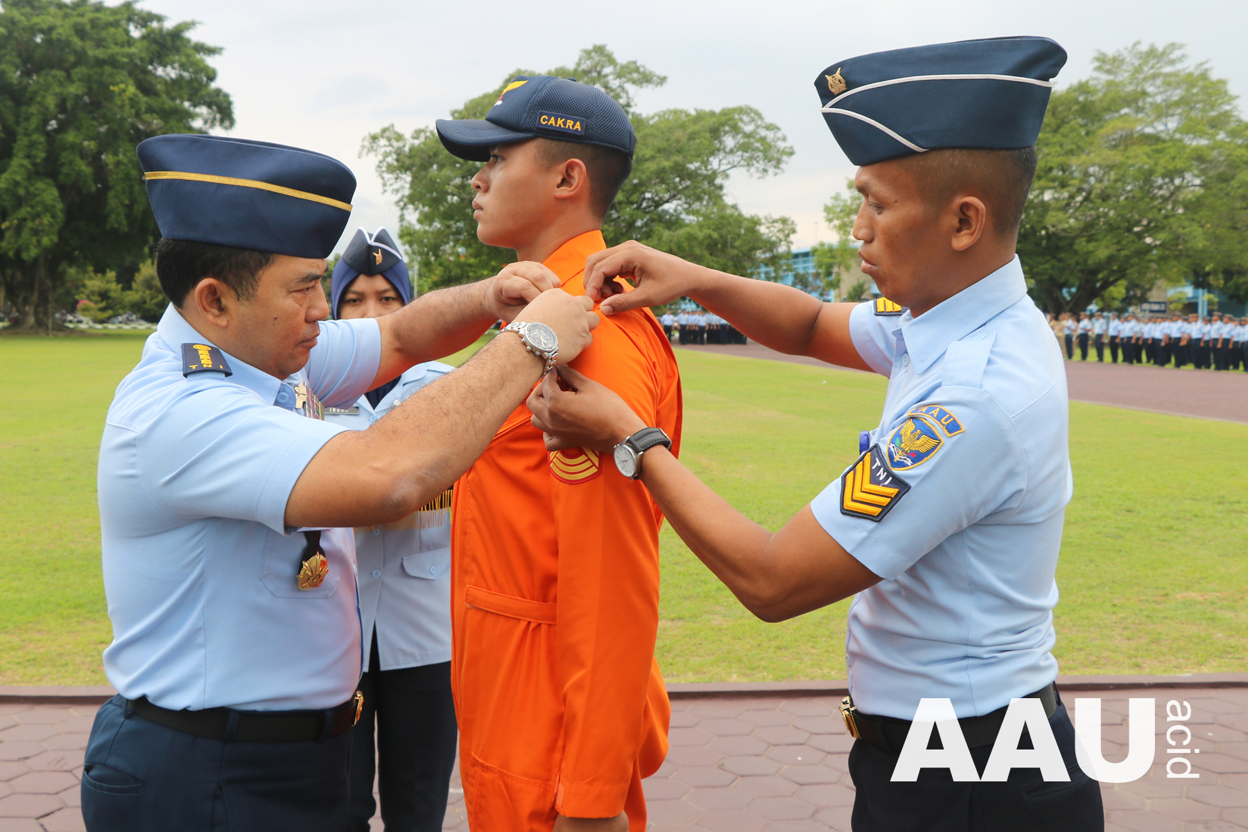 Kontingen Latihan Cakra Wahana Paksa kembali ke AAU