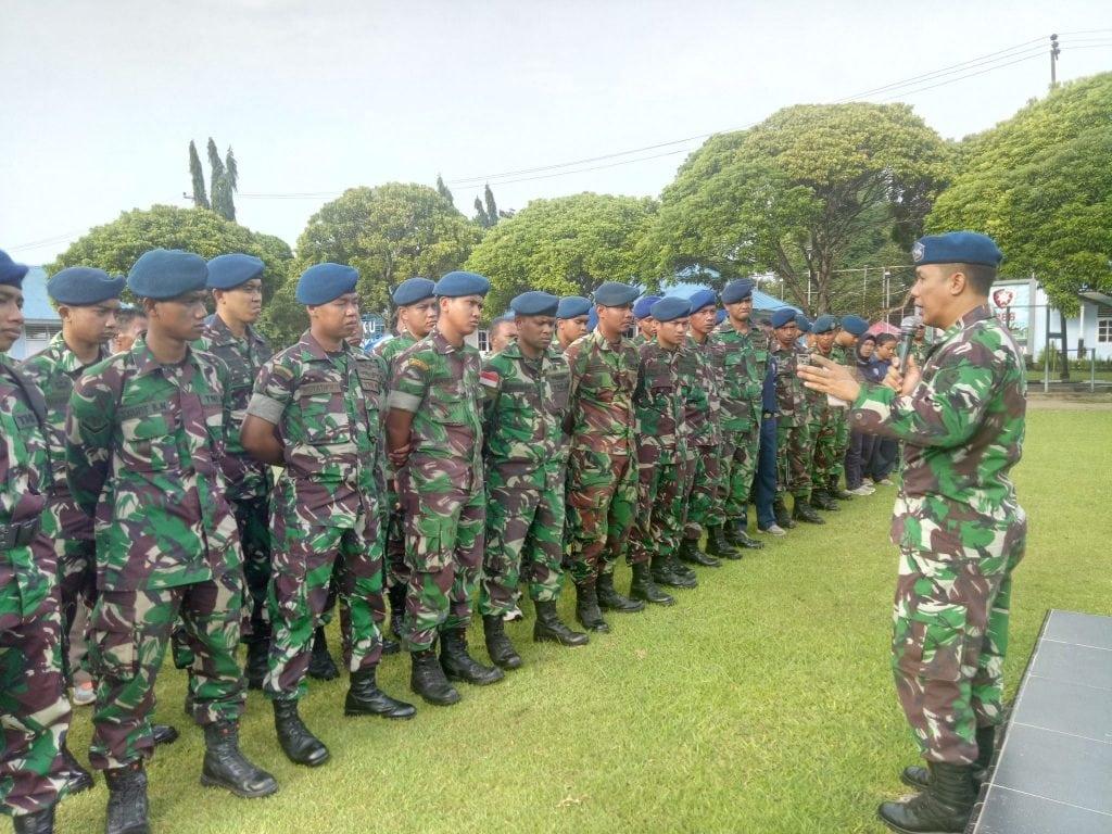 Ceramah Hukum di Lanud Silas Papare TNI Harus Netral dalam Pemilu 2019