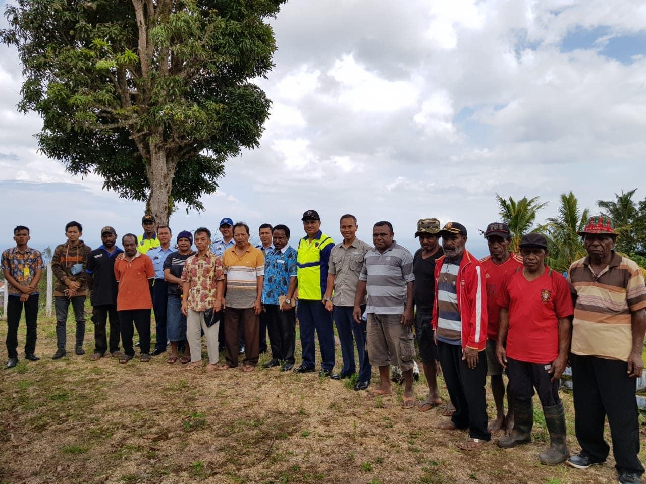 Musyawarah Penetapan Batas Areal Tanah Adat Garapan