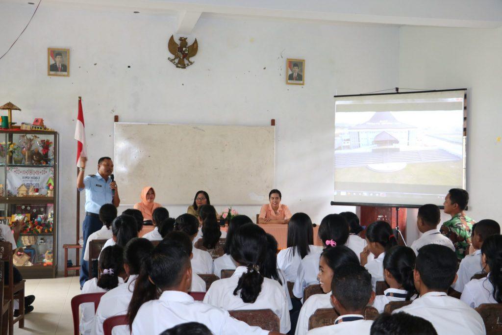 Lanud Pattimura Sosialisasikan Sekolah Unggulan SMA Pradita Dirgantara