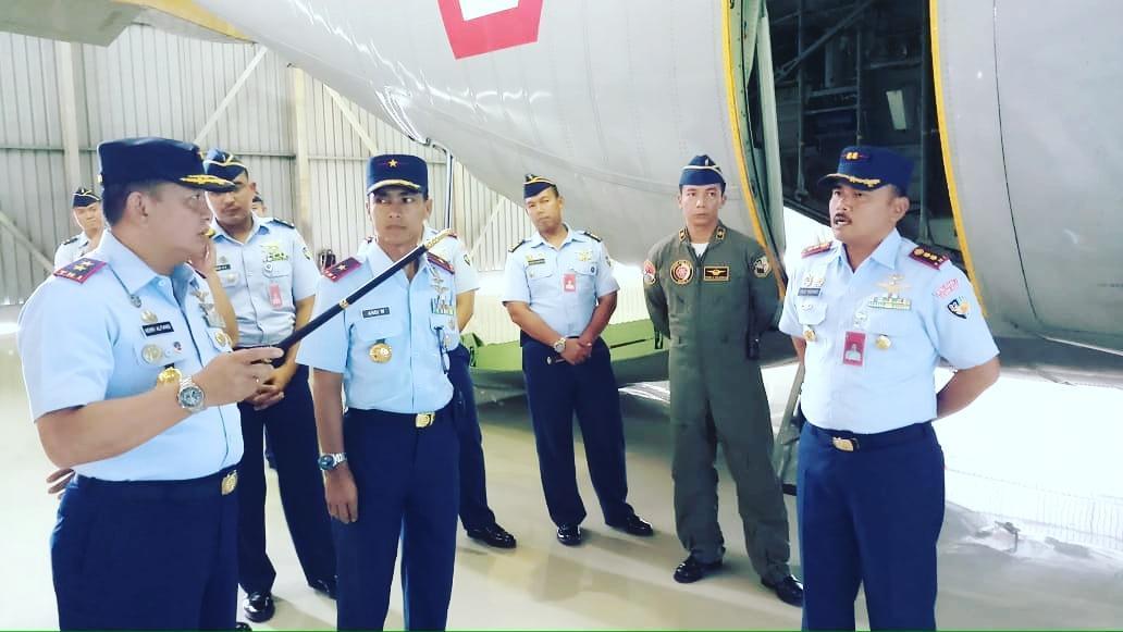 Pangkoopsau II Tinjau ke Skadron Udara 32
