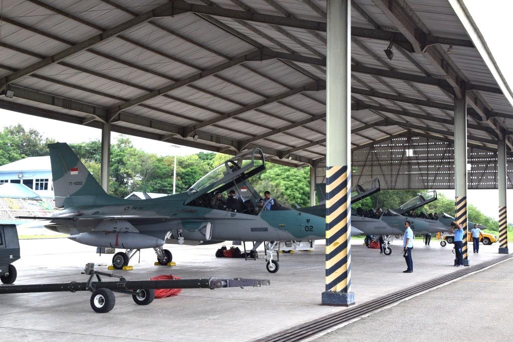 Tiga Pesawat T-50i Tiba di Lanud El Tari