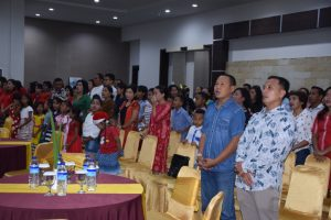 Umat Kristiani Lanud El Tari Adakan Natal Bersama