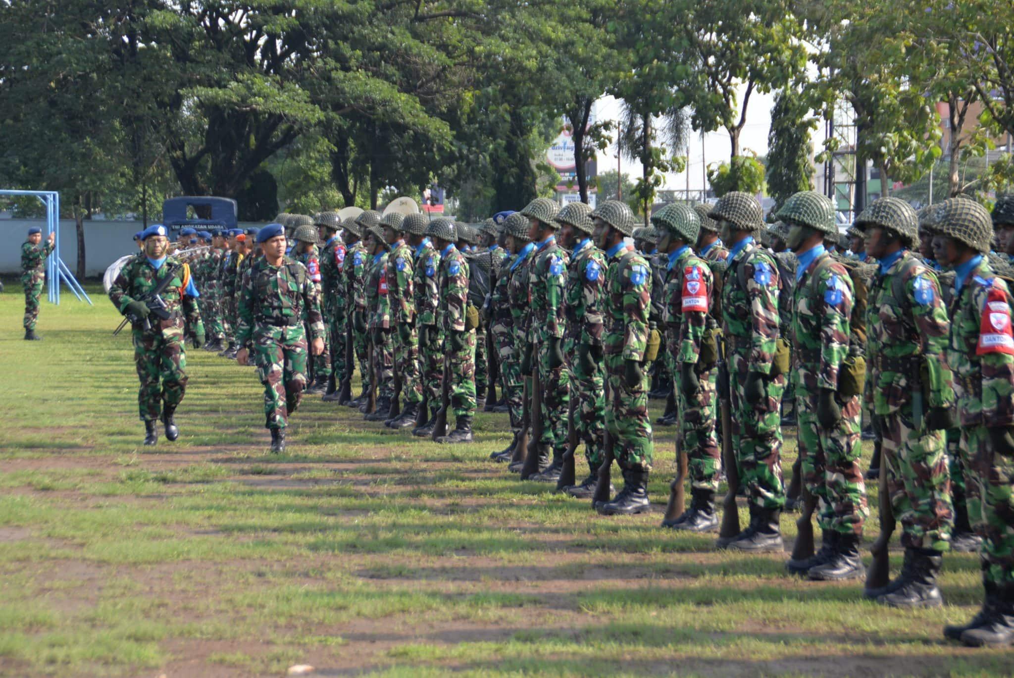 Kadisops Lanud Smo Buka Latganda Semaba PK Pria TNI AU Angkatan Ke-43