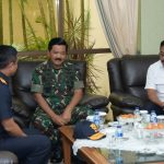 Danlanud Rhf Terima Kunjungan Panglima TNI di Batam