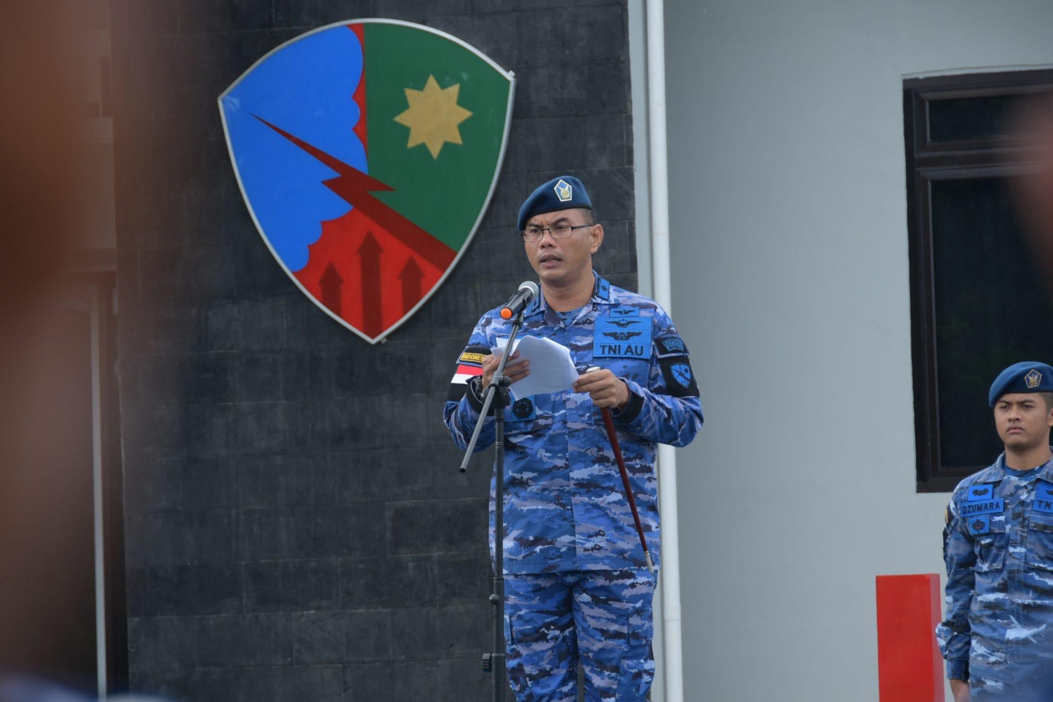 Lanud Rhf Laksanakan Upacara Bendera 17an Bulan Januari 2019