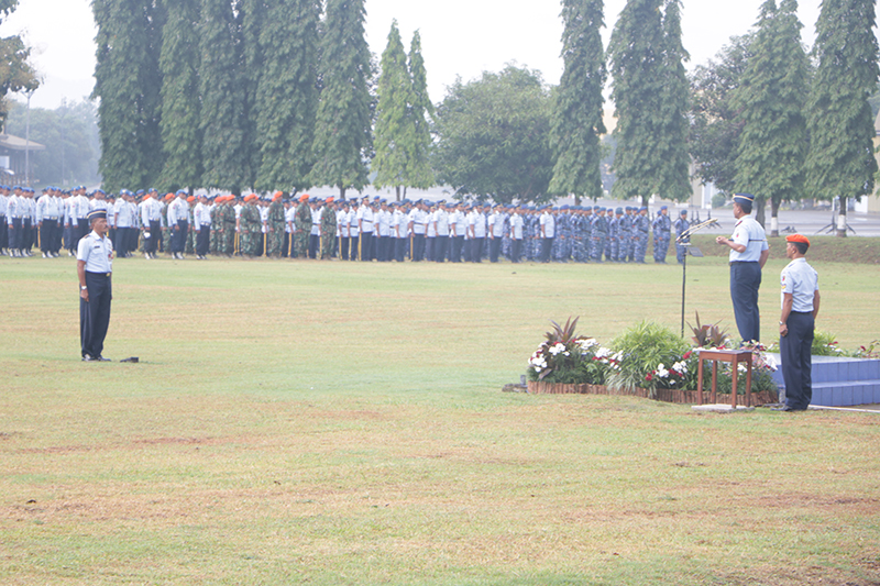 TNI Angkatan Udara Harus Mampu Meningkatkan Kualitas Pelaksanaan Kinerja.
