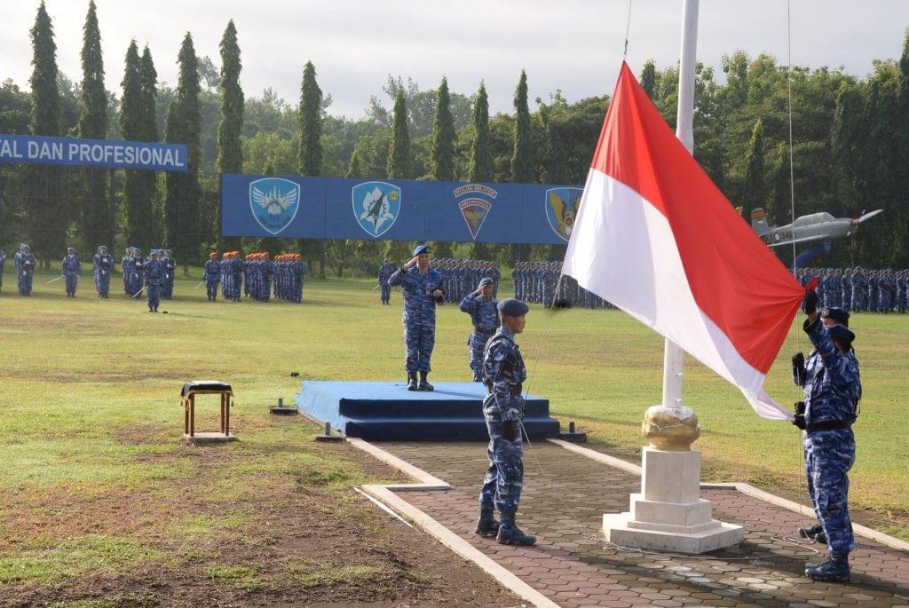 Upacara Bendera 17-an Bulan Januari di Lanud Adisutjipto