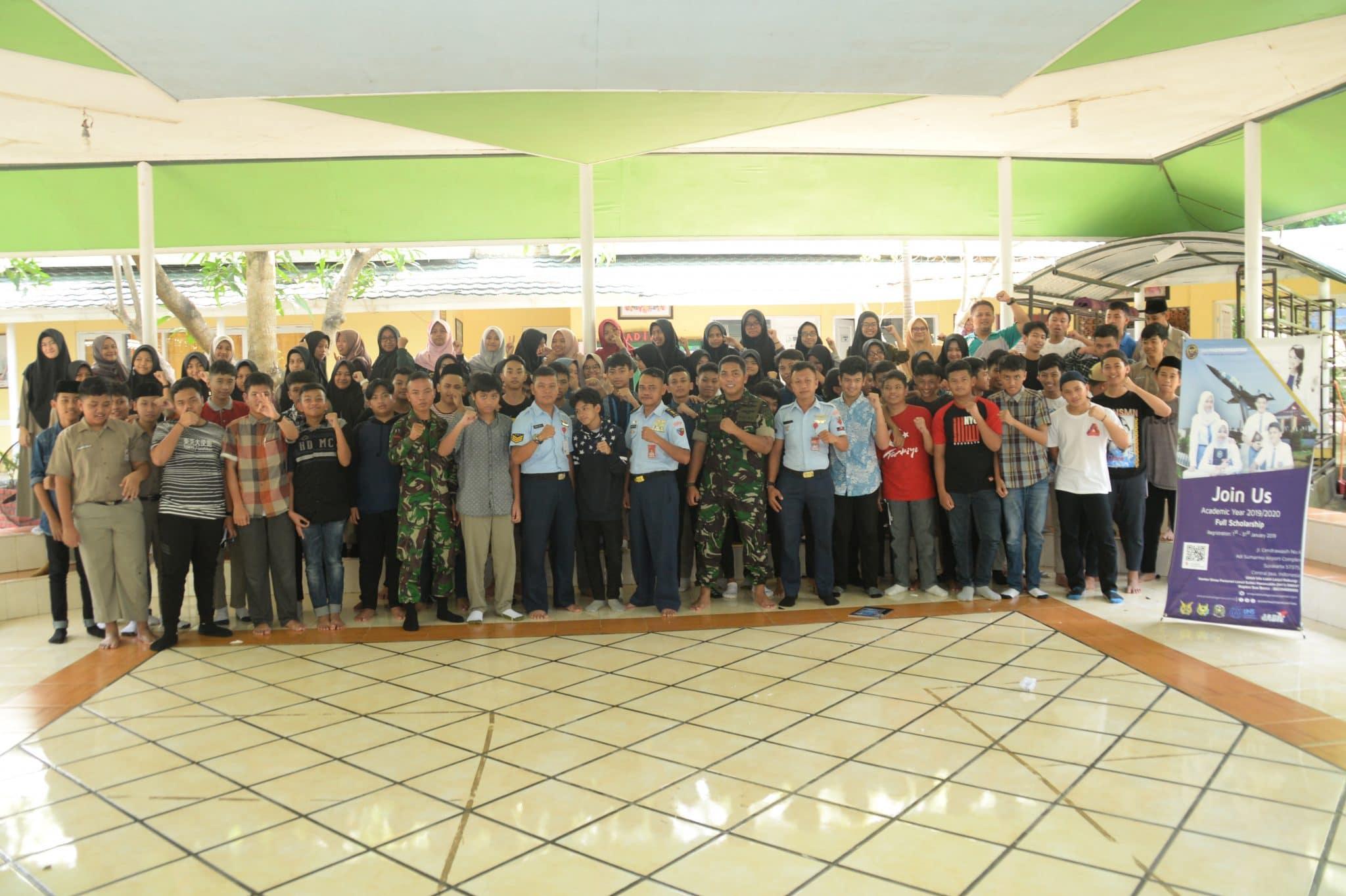 Sosialisasi Penerimaan Peserta Didik Baru SMA Pradita Dirgantara di Makassar