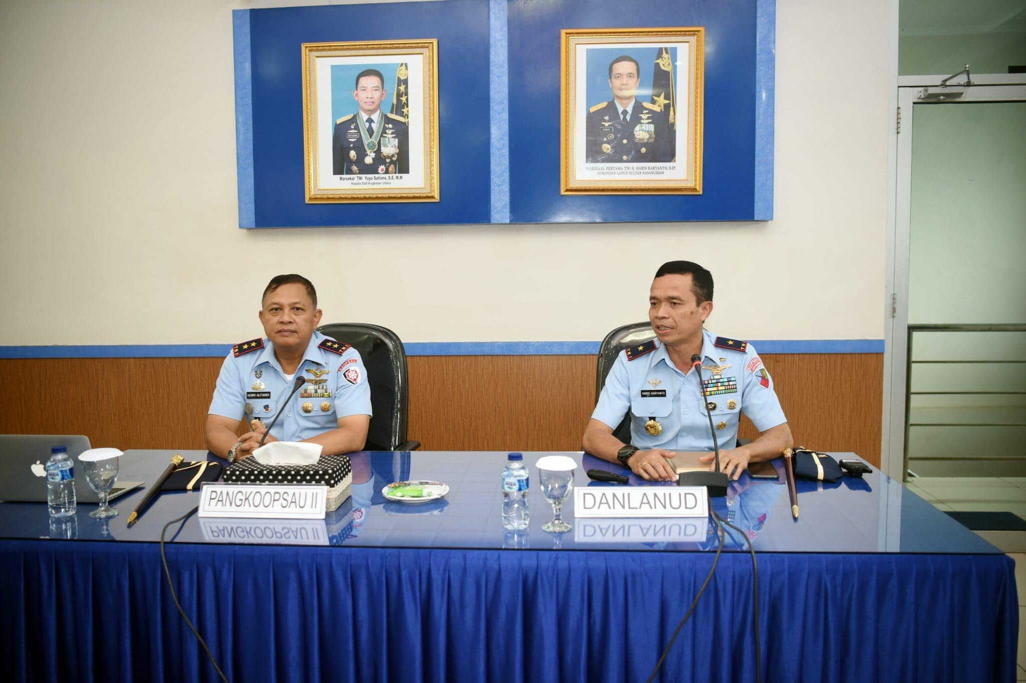 """Pangkoopsau II: """"Setiap Perwira Tingkatkan Leadership dan Safety"""""""