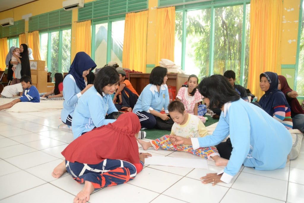 PIA AG Lanud Sultan Hasanuddin Bantu Korban Banjir